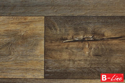 PVC Toptex Cracked Oak 693D, 4 m - 1